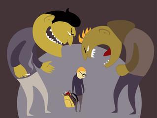 Bullies and a kid