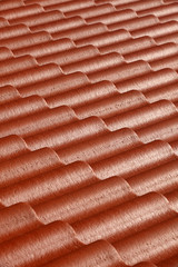 .Pattern of red roof