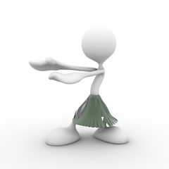 3d character dancer