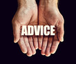 advice hands