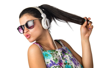 Headphones Teenager