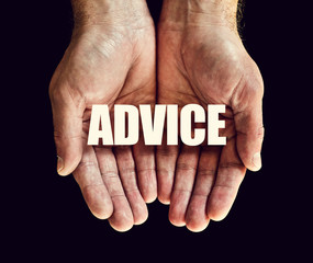 advice hands