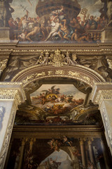 Painted hall in London where Nelson lay in state after his death