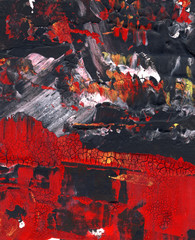 Abstract mixed media background or texture