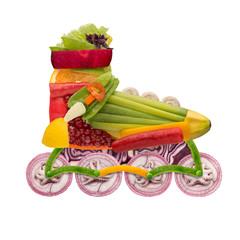 Veggie roller.