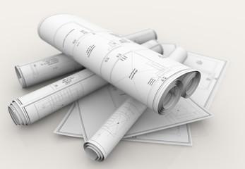 technical blueprints