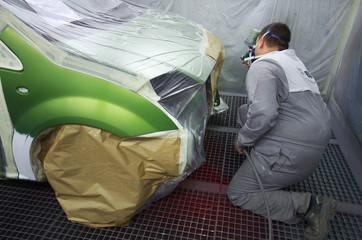 carrosserie - cabine de peinture