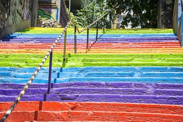 Scala arcobaleno Istanbul