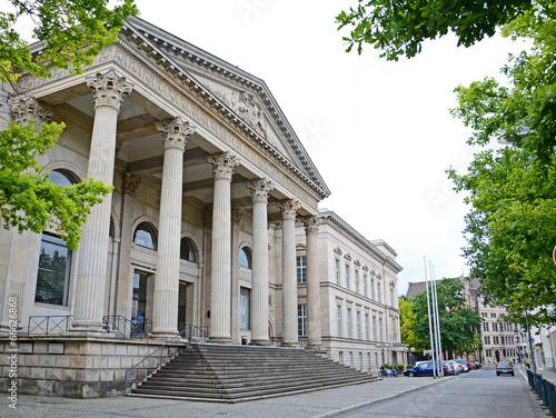 Leinwanddruck Bild Hannover, Landtag Niedersachsen