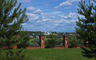 Orthodox male monastery Vasilevsky.