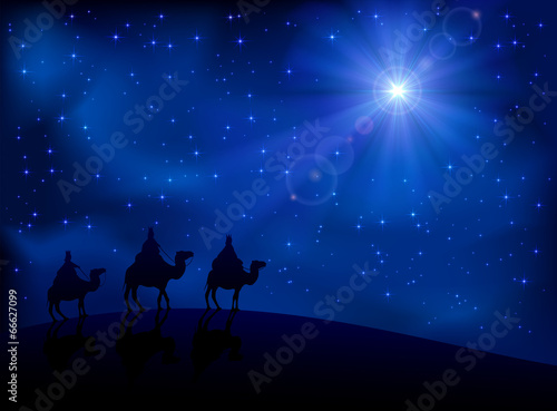 Three wise men and star - 66627099