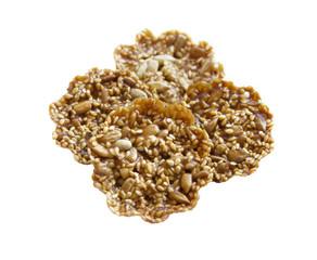 Gozinaki with sunflower seeds and sesame