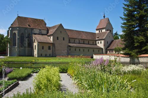 canvas print picture Insel Reichenau - Klostr in Mittelzell