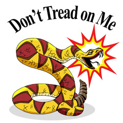 Rattlesnake Dont Tread On Me