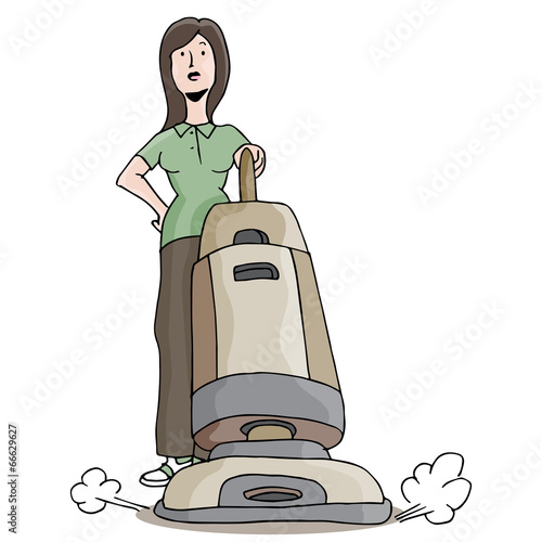 Carpet Cleaner Girl