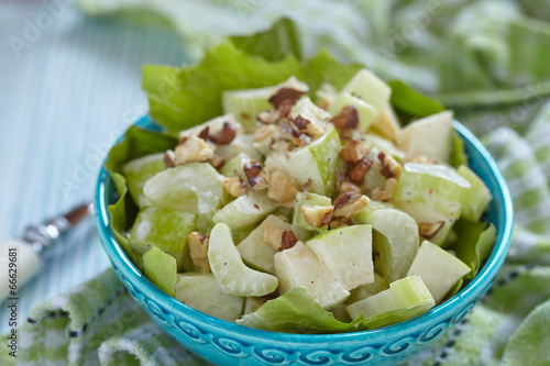 Fotobehang Salade Waldorf salad