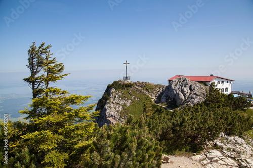 Gipfelkreuz auf dem Hochfelln © hardyuno