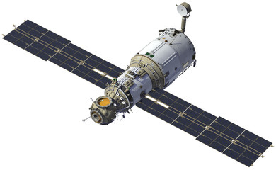 "International Space Station. Module ""Zvezda"""