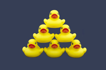 Rubber Ducks Pyramid