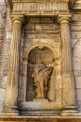 Escultura decapitada Valladolid