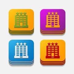 square button: hotel