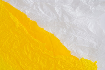 yellow and white paper design