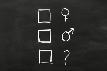 Checkbox'es with gender selection