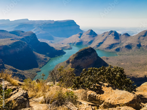 Canvas Zuid Afrika Scenic view of the Blyde River Canyon, South Africa
