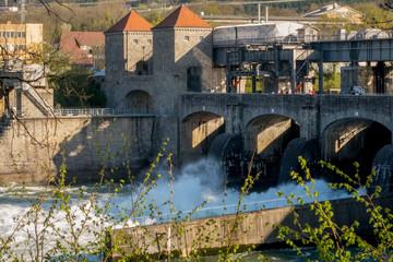 Wasserkraftwerk am Hochrhein