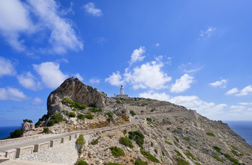 Lighthouse Cap Formentor Mallorca Spain