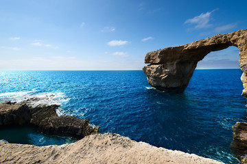 Azure Window formation on Gozo Island