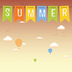 Retro Summer Poster