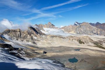 Erosione glaciale in alta montagna