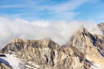 Panorama di alta montagna