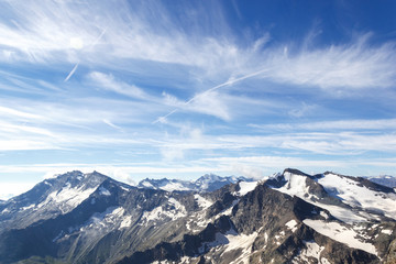 Catena montuosa delle alpi