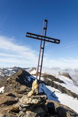 Crocifisso in vetta alla montagna