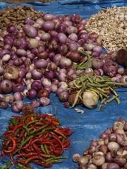 Mercado en la India
