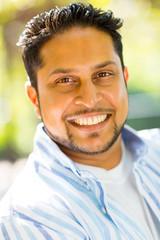 indian man close up