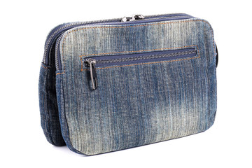 Blue jeans women bag