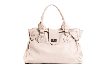 leather female handbag
