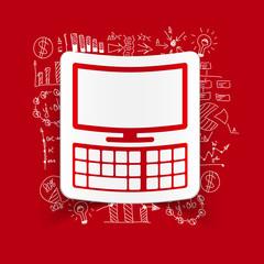 Drawing business formulas: computer