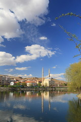 Avanos town Turkey.