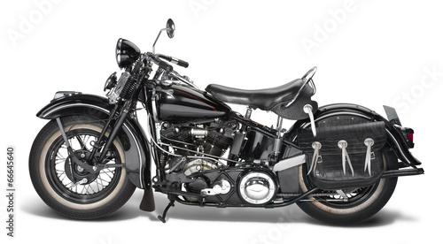canvas print picture vintage motorbike