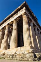 Héphaïstos temple antique, Athènes, Grèce