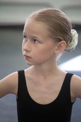 ballet girl portrait