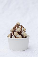 Frozen Joghurt Nougat