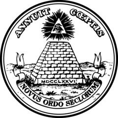 Dollar Symbol, Großes Siegel, Auge Gottes