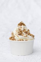 Frozen Joghurt Erdnüsse