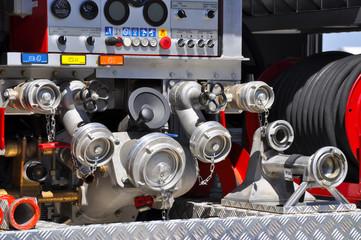 many Fire hoses