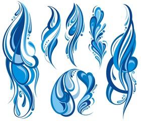 Water wave symbols